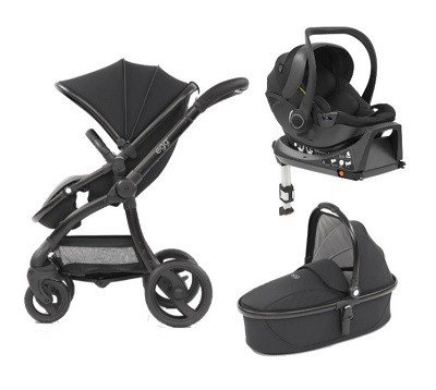 Egg Stroller Car Seat and Carry Cot Isofix combo