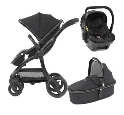 Egg Stroller Car Seat and Carry cot combo