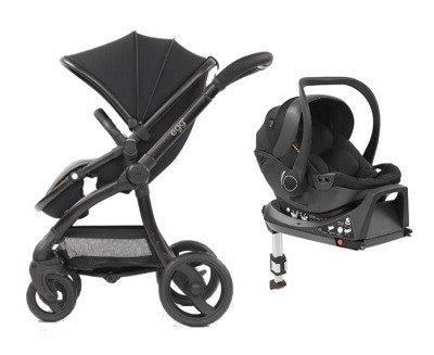 Egg Stroller and Car Seat Isofix combo