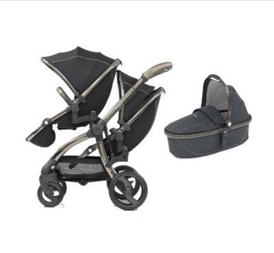 Egg Twin Stroller One Carry Cot combo