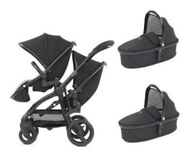 egg twin and 2 carry cot combo