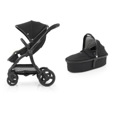 EGG2 2IN1 JUST BLACK WITH CARRY COT