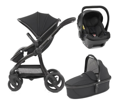 Egg Stroller / Car Seat / Carry Cot Combo