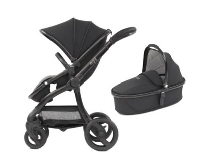 Egg Stroller and Carry Cot Combo
