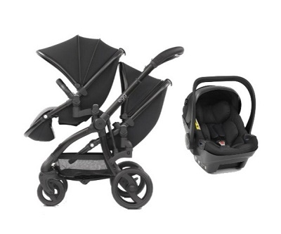 Egg Twin Stroller / One Car Seat Combo