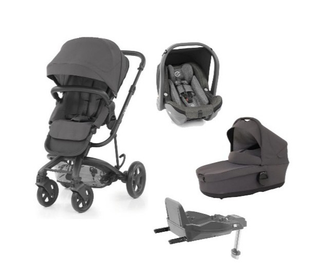 HYBRID2 4 in 1 Stroller + Oyster Car Seat + Isofix + Carry Cot