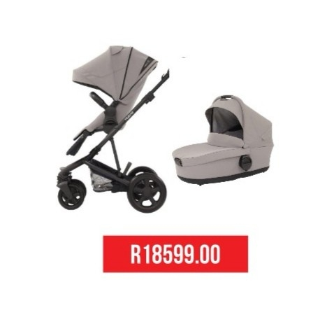 2 in 1 Stroller + Carry Cot
