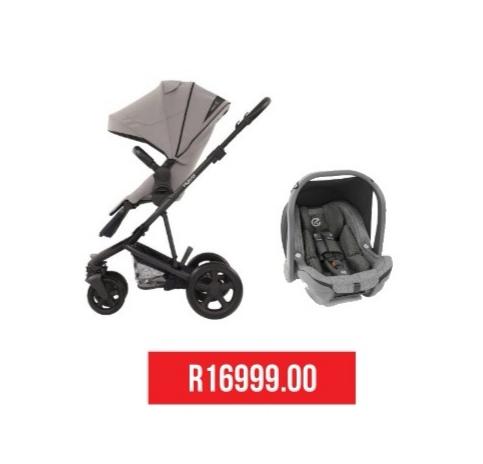 2 in1 Stroller + Oyster Car Seat