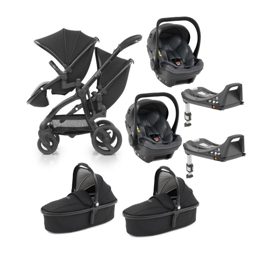 egg2 Twin 7-in-1 Travel System