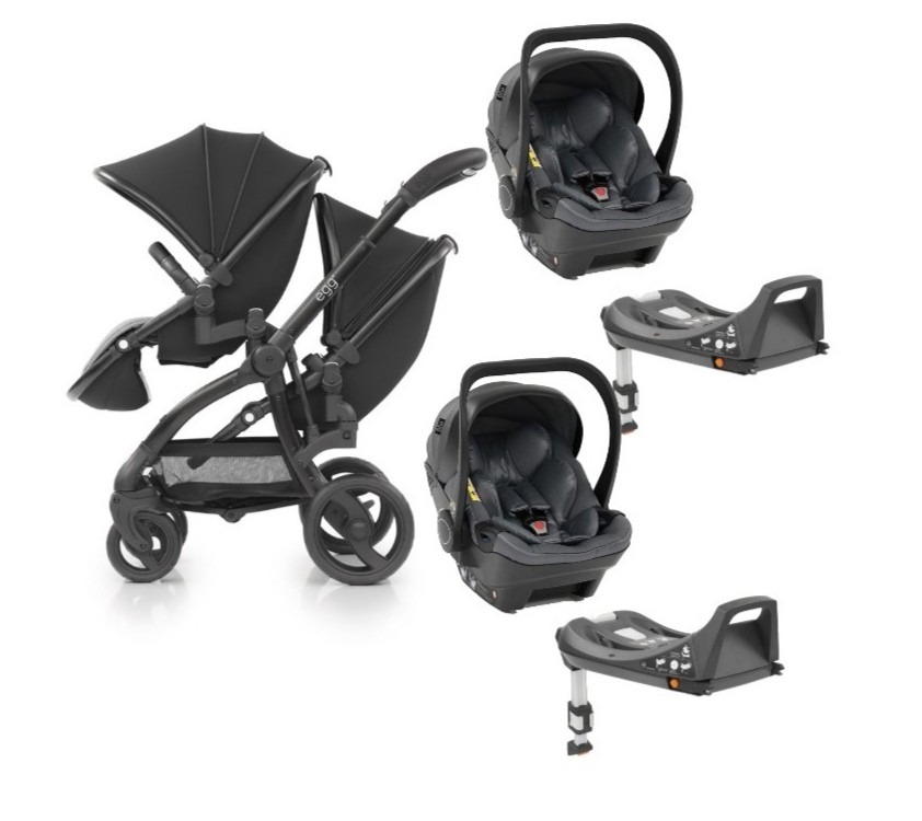 egg2 Twin 5-in-1 Travel System