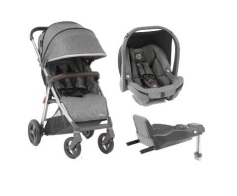 OYSTER ZERO 3-IN-1 TRAVEL SYSTEM