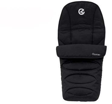 OYSTER COLLECTION (FOOTMUFF – BLACK) OFMSMBL