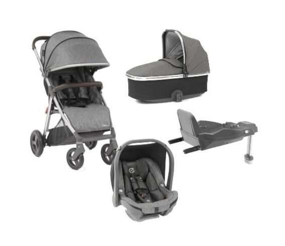 OYSTER ZERO 4-IN-1 TRAVEL SYSTEM
